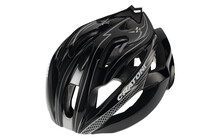 Cratoni C-Bolt Casque noir-argent brillant